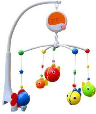 GoAppuGo Baby Musical Cot Mobile Hanging Toys for New Born Cribs Beds(Multicolor)
