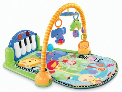 GoMerryKids Musical Toy GYM Piano For Baby with Rattles(Pink, Blue)