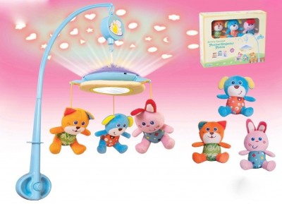 Parkfield Premium Developmental Baby Learning Toy - W/U MUSICAL MOBILE WITH LIGHT(Multicolor)