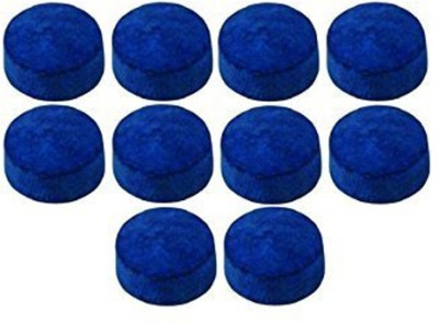 JBB 13 MM CUE TIPS (PACK OF 10PIECES) all purpose Snooker, Pool Cue Stick(Microfibre)