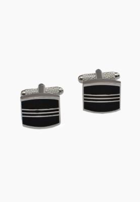 Alvaro Brass Cufflink Set(Black)
