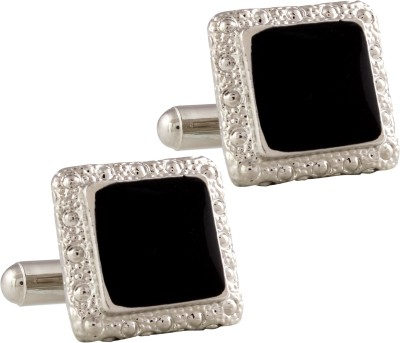 Tripin Brass Cufflink(Black) at flipkart