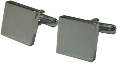 Blacksmithh Alloy cufflink(Grey)  available at flipkart for Rs.199