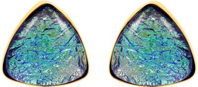 Exxotic Jewelz Brass Cufflink(Blue)