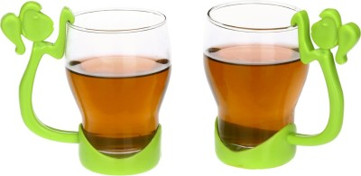 Somil Somil New Design & Style Glass Tea Cup Set Of 6 Model No-B42(Clear, Pack of 2) at flipkart