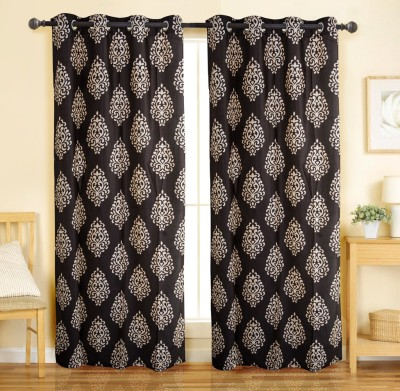 49 off on plus home brown contemporary polyester door curtain set of 2 on snapdeal. Black Bedroom Furniture Sets. Home Design Ideas