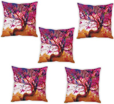 StyBuzz Abstract Cushions Cover(Pack of 5, 40 cm*40 cm, Multicolor) at flipkart