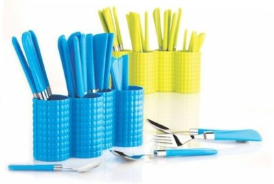 Skys&Ray Stainless Steel, Plastic Cutlery Set(Pack of 1) at flipkart