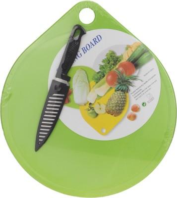 Zeva Best Cook PP (Polypropylene), Plastic Cutting Board(Green Pack of 1) at flipkart