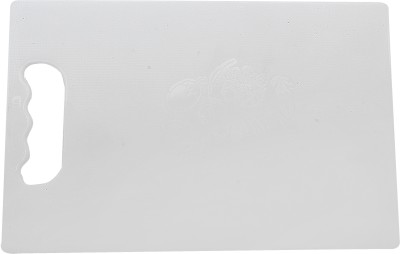 Capital Delux Plastic Cutting Board(White Pack of 1)  available at flipkart for Rs.165