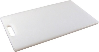 Ebigshopping Plastic Cutting Board(White Pack of 1)  available at flipkart for Rs.195