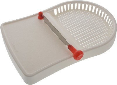 Ankur Plastic Cutting Board(Red, White)  available at flipkart for Rs.165