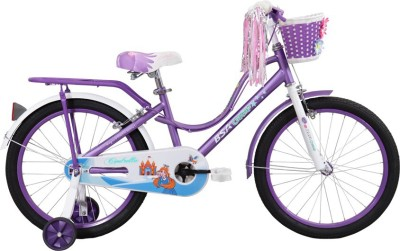 BSA CHAMP CINDRELLA 20 INCH CYCLE 20 T Recreation Cycle(Single Speed, Purple)