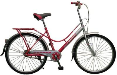 COSMIC COLORS LADIES BICYCLE  PINK/GREY  26 T Girls Cycle/Womens Cycle Single Speed, Pink, Grey COSMIC Cycles