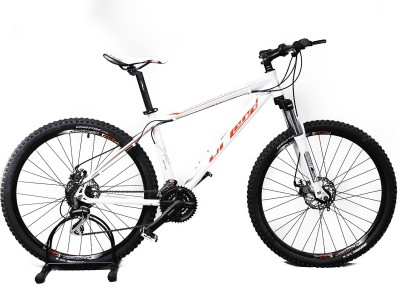 Upland Vanguard 200 White&Red 27.5 T Mountain/Hardtail Cycle(24 Gear, White)