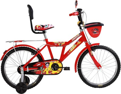 BSA CHAMP TOONZ 12 INCH BICYCLE with plastic wheel 14 T Recreation Cycle(Single Speed, Red)