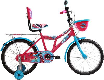 BSA CHAMP TOONZ 12 INCH BICYCLE with plastic wheel 12 T Recreation Cycle(Single Speed, Pink)