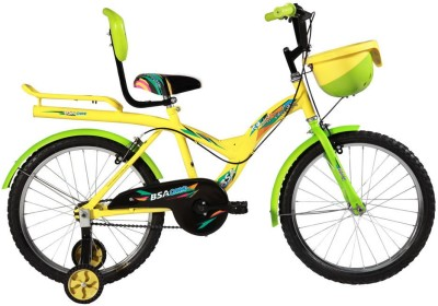 BSA CHAMP ROCKY JUNIOR 20 INCH CYCLE 20 T Recreation Cycle(Single Speed, Green, Yellow)