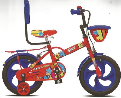 BSA CHAMP STAR 12 INCH CYCLE 12 T Recreation Cycle(Single Speed, Red, Blue)