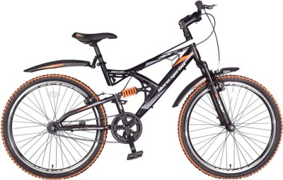 Hero RX2 26T SS Sprint without Disc Brake 26 T Single Speed Mountain Cycle(Black, Orange)