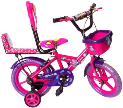 Air Marshal Double Seat 14 Inch 14 T Single Speed Road Cycle(Pink)