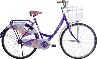 BSA Lady Bird Shine 24 S/S Purple 24 T Girls Cycle/Womens Cycle(Single Speed, Purple)