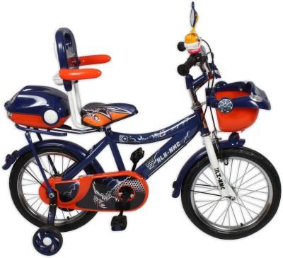 HLX-NMC KIDS BICYCLE 16 CAR-X BLUE/ORANGE 16 T Single Speed Recreation Cycle(Blue, Orange)