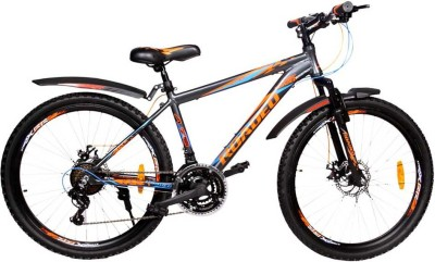 HERCULES NFS Roadeo 26 T 18 Speed Mountain/Hardtail Cycle(Black)  available at flipkart for Rs.14999
