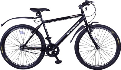 Hero Urban 26 T Single Speed Hybrid Cycle/City Bike(Black)