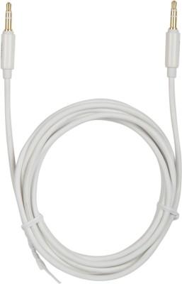 Ultraprolink PMM 146-0200 3.5mm-3.5mm AUX Cable AUX Cable(Compatible with InCar, Tablets, Mobiles, Desktop, Laptop, White) at flipkart