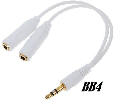 BB4 White 3.5 Phone Converter Android, iOS BB4 Phone Converters