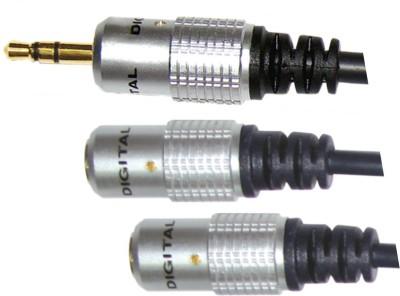 MX 2675 0.35 m Copper Braiding Headphone Splitter