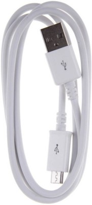 Diamoda Data Sync + Fast Charging Cable 1 m Micro USB Cable Compatible with Smart Phones, Tabs, White Diamoda Mobile Cables