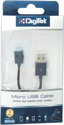 DIGITEK DC1M MU 1 m Micro USB Cable Compatible with USB, Black, One Cable DIGITEK Mobile Cables
