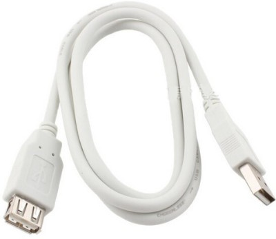 JPRS 1.5 M Male to Female 3.0 1.5 m Micro USB Cable(Compatible with All Smartphones, Tablets and MP3 player, White, One Cable)
