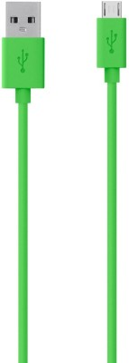 Belkin MIXIT↑ Micro-USB to USB Charge/Sync USB Cable(Green)  available at flipkart for Rs.399