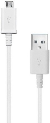 maxxone USB Data Cable 1 m Micro USB Cable Compatible with Mobile, White