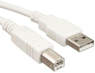 Terabyte TB-USB Micro USB Cable(Compatible with Printer, White, Sync and Charge Cable) at flipkart