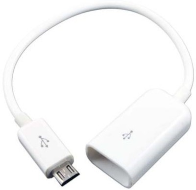 Tiptop OTG Cable Samsung All Smart Phones/Micro USB USB Cable(White)