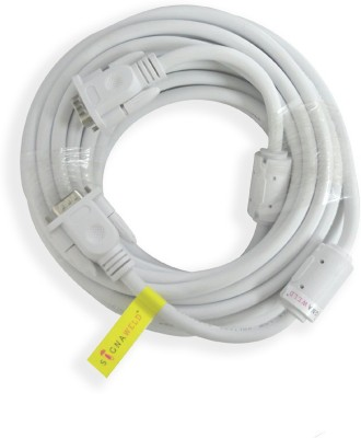 Signaweld High Quality 15 Pin(M/m) 15 Meter VGA Cable(White)
