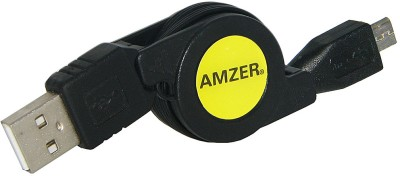 Amzer 88366 Micro HDMI High Speed Male to HDMI Male Cable 1ft