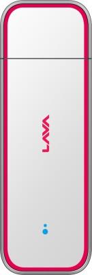 Lava 730 G 3G Data Card(White)