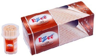 Ezee Wooden Mini Toothpicks 140 sticks(68 mm, Pack of 5)