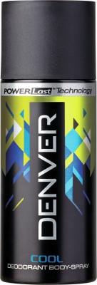 Denver Deo Cool 150 Ml Deodorant Spray  -  For Men(150 ml)  available at flipkart for Rs.185