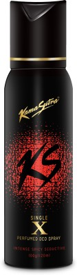 KamaSutra Black X Body Spray Deodorant Spray  -  For Men(120 ml) at flipkart