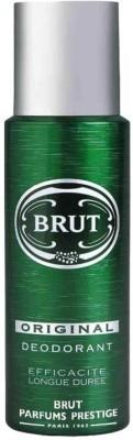 Brut Original Deodorant Spray  -  For Men(199 ml)  available at flipkart for Rs.275