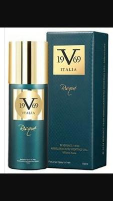 Versace RISQUE Body Spray  -  For Men(150 ml)