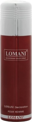 Lomani Declaration Deodorant Spray  -  For Men(200 ml)