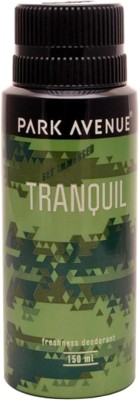 Park Avenue Tranquil Deodorant Spray  -  For Men(150 ml)