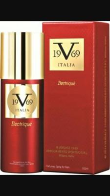 Versace ELECTRIQUE Body Spray  -  For Men(150 ml)